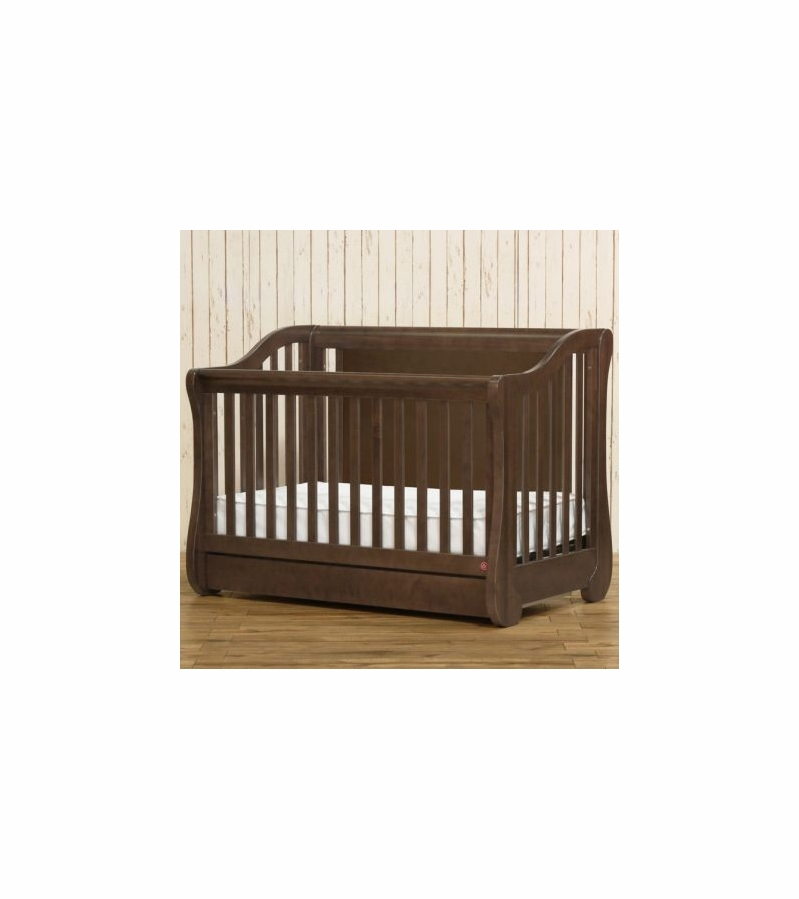 Franklin Amp Ben Mayfair Crib In Rustic Brown