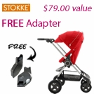 Free Adapter with Stokke Scoot