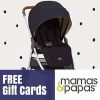 Free Gift Card with Mamas & Papas