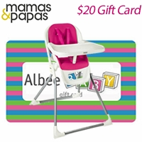 Free Gift Card with Mamas & Papas Pixi High Chair
