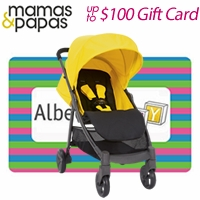 Free Gift Card with Mamas & Papas Strollers
