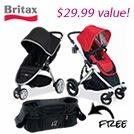 FREE Parent Organizer with Select Britax Strollers
