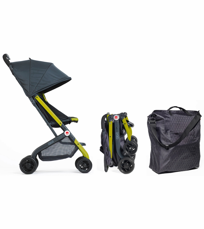 Qbit Travel Stroller Citrus