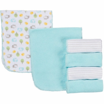 Gerber Neutral 6 Pack Terry Burp Cloths