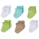 Gerber Neutral 6 Pack Variety Socks - 3 to 6 Months