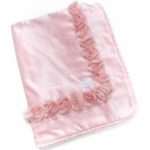 Glenna Jean Anastasia Throw in Pink Velvet