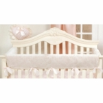 Glenna Jean Ava Convertible Crib Rail Protector (Short Set)