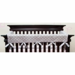 Glenna Jean Bella and Friends Convertible Crib Rail Protector - Long