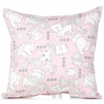Glenna Jean Bella and Friends Throw Pillow - Print