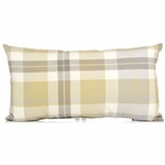 Glenna Jean Brea Throw Pillow - Rectangular Plaid