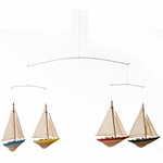 Glenna Jean Ceiling Mobile - Sailboats