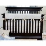 Glenna Jean Central Park Convertible Crib Rail Protector - Long