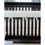 Glenna Jean Central Park Convertible Crib Rail Protector - Short Set