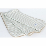 Glenna Jean Central Park Throw - Houndstooth Check with Softee Back