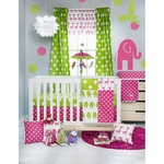 Glenna Jean Ellie & Stretch 3 Piece Crib Set