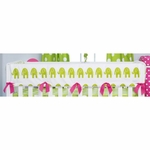 Glenna Jean Ellie & Stretch Convertible Crib Rail Protector - Long