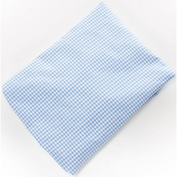 Glenna Jean Fitted Sheet in Blue Gingham
