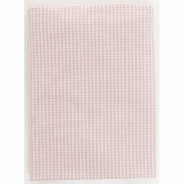Glenna Jean Fitted Sheet in Pink Gingham