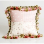 Glenna Jean Isabella Patch and Tassels Pillow