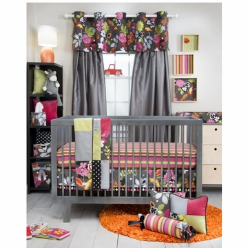 Glenna Jean Kirby 3 Piece Crib Bedding Set