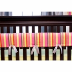 Glenna Jean Kirby Convertible Crib Rail Protector - Short Set