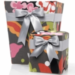 Glenna Jean Kirby Tissue Cover & Wastebasket Set