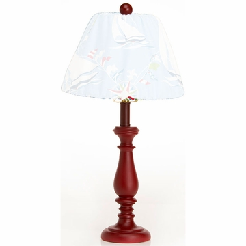 Glenna Jean Lamp Base - Red