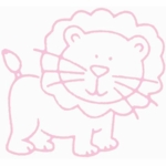 Glenna Jean Lion Vinyl Wall Decal