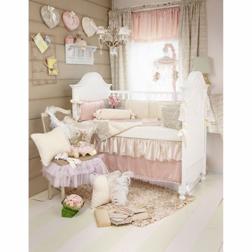 Glenna Jean Love Letters 4 Piece Crib Bedding Set