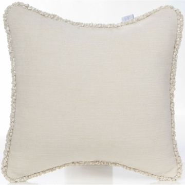 Glenna Jean Love Letters Pillow - Cream Velvet