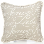 Glenna Jean Love Letters Pillow - Text