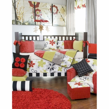 Glenna Jean McKenzie 3 Piece Crib Bedding Set