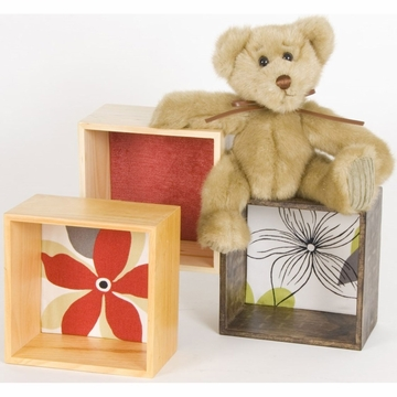 Glenna Jean McKenzie Wall Hanging  - Bear with Blocks
