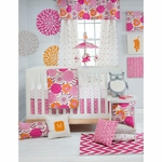 Glenna Jean Millie 3 Piece Crib Bedding Set