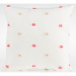 Glenna Jean Millie Throw Pillow - Pink/Cream Puff