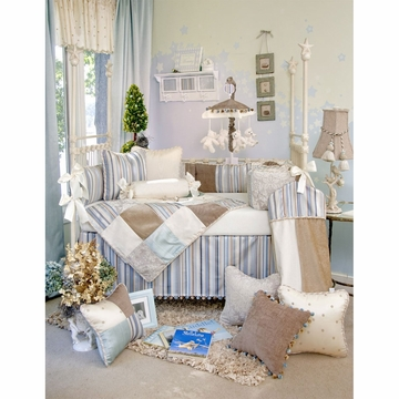Glenna Jean Preston 3 Piece Crib Bedding Set