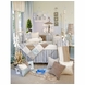 Glenna Jean Preston 4 Piece Crib Bedding Set