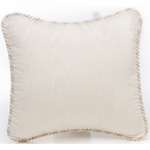 Glenna Jean Preston Pillow - Cream Moire