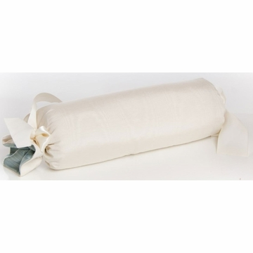 Glenna Jean Preston Roll Pillow - Cream