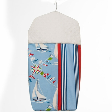 Glenna Jean Set Sail Diaper Stacker