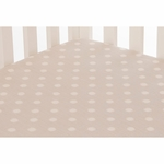 Glenna Jean Set Sail Fitted Sheet - Grey Dot