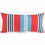 Glenna Jean Set Sail Rectangle Throw Pillow - Stripe