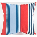 Glenna Jean Set Sail Throw Pillow - Stripe