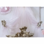 Glenna Jean Sheer Pink Panel for Crown