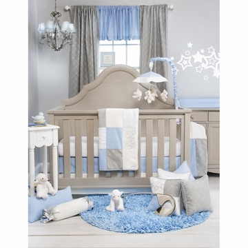 Glenna Jean Starlight 3 Piece Crib Bedding Set