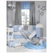 Glenna Jean Starlight 4 Piece Crib Bedding Set