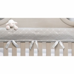 Glenna Jean Starlight Convertible Crib Rail Protector - Short Set