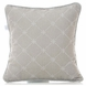 Glenna Jean Starlight Pillow - Grey Embroidery