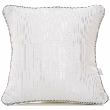 Glenna Jean Starlight Pillow - Metallic Stripe