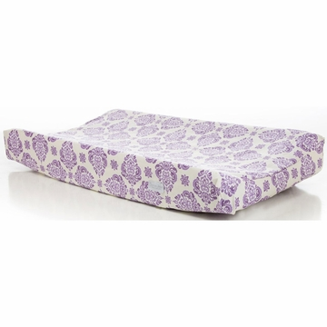 Glenna Jean Sweet Violets Changing Pad Cover